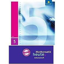 Mathematik heute 6 Arbeitsheft mit Lösungen Stück Hessen