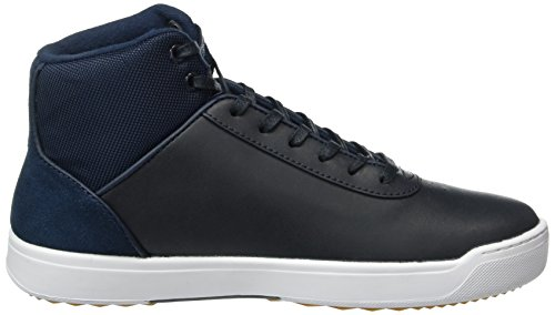 Lacoste Explorateur Ankle 316 2, Baskets Basses Femme Bleu - Blau (NVY 003)