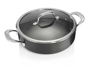 Brabantia pro 1 casserole de 24 cm avec couvercle plat gastro
