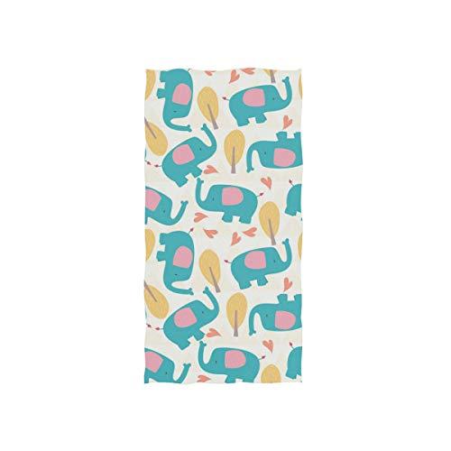 DEZIRO Love Cute Elefant hoch saugfähige Gesichtstücher Sport Handtücher