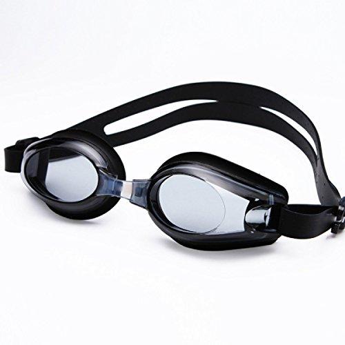 BUKUANG Uomini Adulti Che Nuotano I Tronchi Occhiali Antinebbia Miopia Pu Costume Boxer Nuoto Apparecchi Di Fascia Alta Cuffia Vestito 500