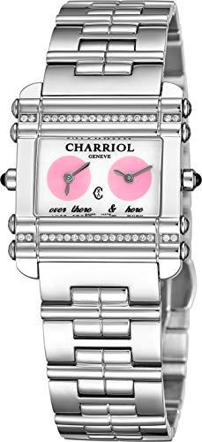 Charriol Actor CCHDTD1.110.HDT02 - Orologio da donna in acciaio inox con...