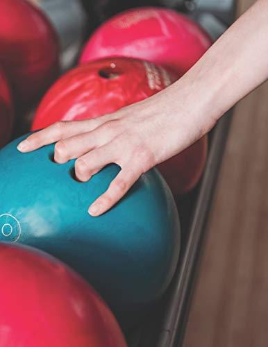 Bowling Scorebuch: Trainingstagebuch für dein Bowlingtraining und deine Bowlingspiele ♦ Führe Protokoll, notiere jeden Strike, Spare und deine ... großzügiges A4+ Format ♦ Motiv: Bowlingkugeln