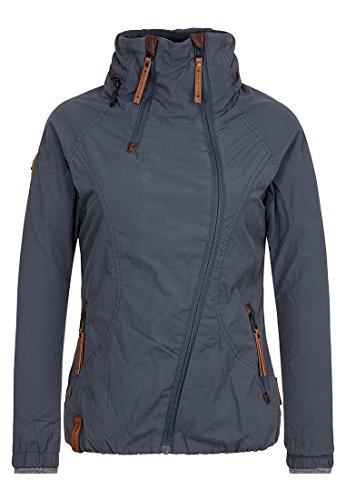 Naketano Female Jacket Forrester Dark Bluegrey, XL