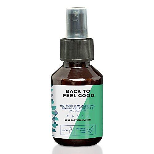 natürliche Hilfe bei Rückenschmerzen | Back to Feel Good | Nackenschmerzen, Rückenschmerzen, Kreuzschmerzen | 100ml Spray (Schmerz-spray)