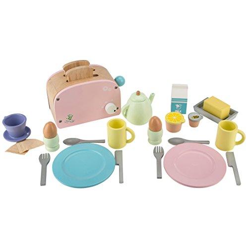 Ultrakidz Frühstücks-Set aus Holz, 25-teilig
