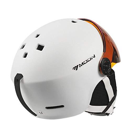 Casques de Ski/motocyclettes/Casques de sécurité Casques de Protection Antichoc, Protection des Yeux Mini-Casque Respirant