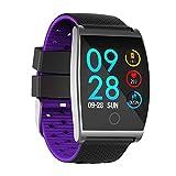 WATCH GYQ@ Smart Armband 1,3 Farbe Bildschirm Herzfrequenz Blutdruck Sport wasserdicht Schritt Armband,Purple