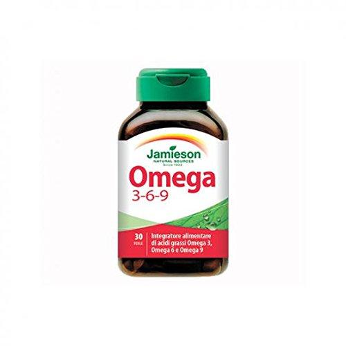 Omega 3-6-9 - Jamieson - integratore alimentare di acidi grassi, Omega 3-6-9