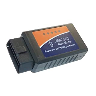 Adapter Universe OBD 2 E-327 Bluetooth CAN BUS Interface kompatibel mit VAG VW BMW usw. für ELM327 Software