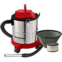KAMINER Aspirateur à cendres avec filtre de 20 L - 1200 W - Cheminée - Filtre HEPA - Double filtre - # 1162