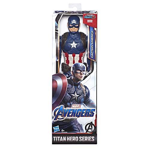 Avengers E3919ES0 AVN Titan Hero Movie Cap, Multicolour (America Captain Avengers)