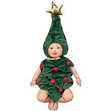 akaayuko beb recin nacido hecho a mano crochet foto fotografa prop disfraz rbol de navidad