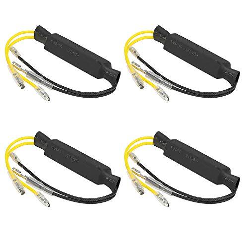 Mintice/™ 4 X 12V Motorrad Blinker LED-Lastwiderstand Flasher Blinker fix Fehler