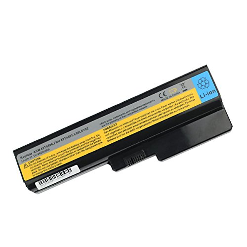 Laptop Akku für Lenovo ASM 42T4586 FRU 42T4585 L06L6Y02 L08L6Y02 B460 B550 G430 G4304152 G450 2949 G450A G455 G530 G530 G450 444-23U G530 G530A G550 G555 N500 B460 B460A B460C (11.1 V. 4400mAh)