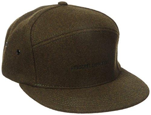 herschel-foster-snapback-cap-moss-green-moosgrn