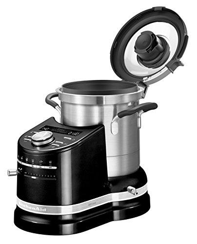 Küchenmaschine mit Kochfunktion: KitchenAid 5KCF0104EOB/4