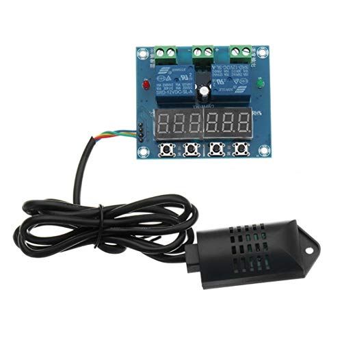 DC 12V XH-M452 Temperature And Humidity Controller Module Digital Display High Accuracy Dual Output Automatic Constant -