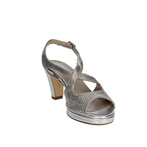 Cinzia Soft 141878 Sandale Femme Argent
