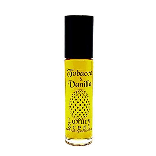 Tabak und Vanille Parfüm Öl 10ml Roll On Flasche Premium Qualität Unisex Duft - Köln Parfüm Öl