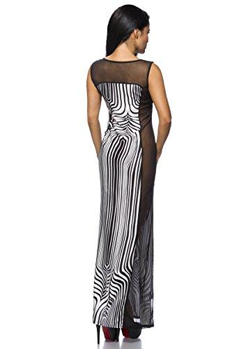 Angies Glamour Fashion -  Vestito  - Donna Zebrato
