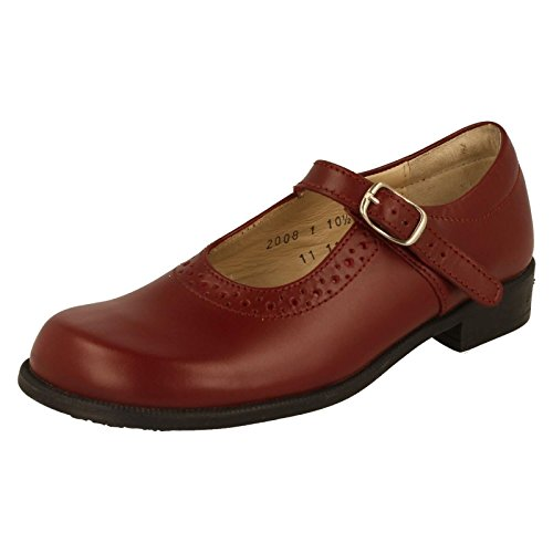 start-rite Girls 'Louisa grande Mary Jane, (1 Red Leather), 25 EU F Bambino