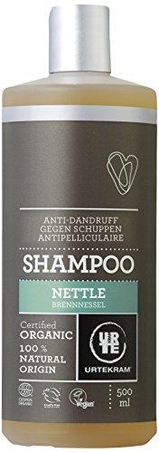 Urtekram Brennnessel Shampoo Bio, Antischuppen, 500 ml -