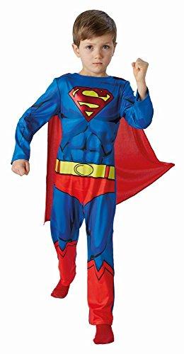 DC Comics Kinder Kostüm Superman Overall Cape Gr.L(12-14J.)