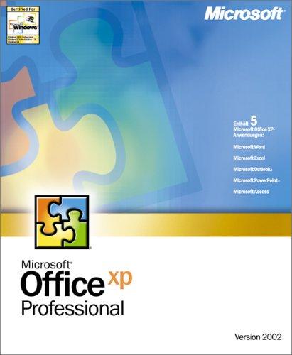 Microsoft Office XP Pro D CD - Microsoft Xp Office Windows