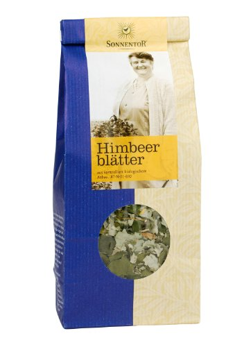 Sonnentor Tee Himbeerblätter lose, 2er Pack (2 x 50 g) - Bio