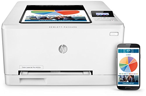 HP Color LaserJet Pro M252n Farblaserdrucker - 5