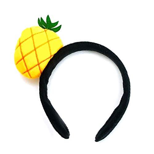 Ananas Stirnband Kostüm - Lifet Kinder Obst Stil Plüsch Tuch Stirnband Dekor Haarband Sweet Headwear 8 Styles (3# Ananas)