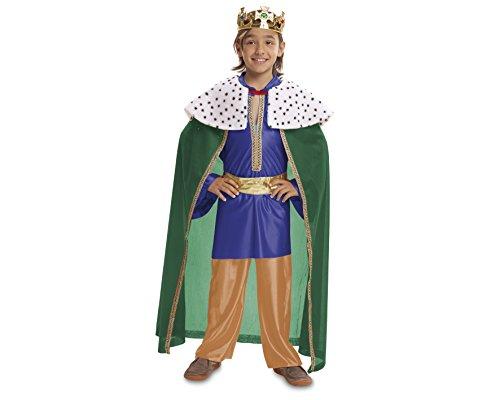 Imagen de my other me  disfraz de rey mago, talla 5 6 años, color azul viving costumes mom00475