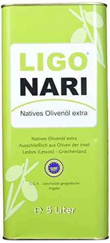 Ligonari Natives Olivenöl extra - 5,00L Kanister, 1er Pack (1 x 5 l)