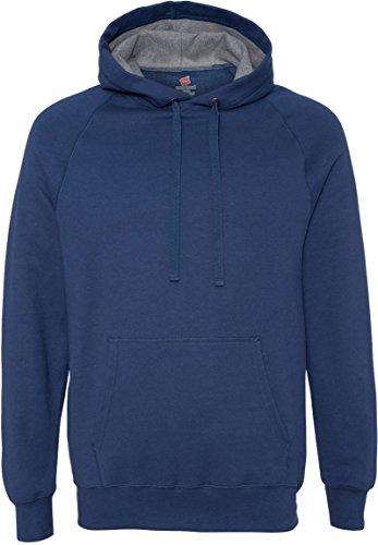 Hanes Herren Sweatshirt Blau - Vintage Navy