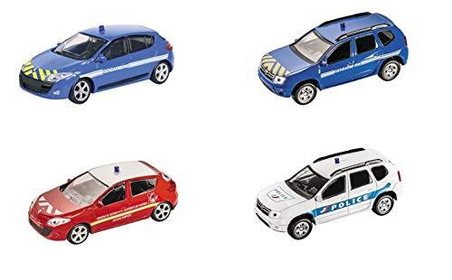 Duster Lot De MeganeréfMs4 4 Voitures Motors Renault Gendarmerie 143Dacia PolicePompier Mondo zjUGLVpMSq