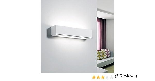 Futur print applique in gesso rettangolare lampada da parete