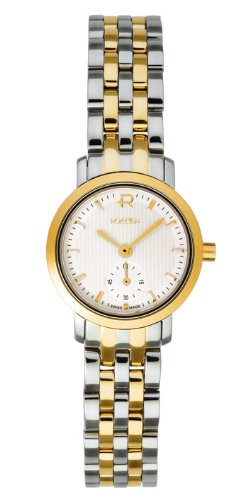 Roamer Odeon Women's Quartz Watch with White Dial Analogue Display and Silver Stainless Steel Bracelet 931855 47 15 90