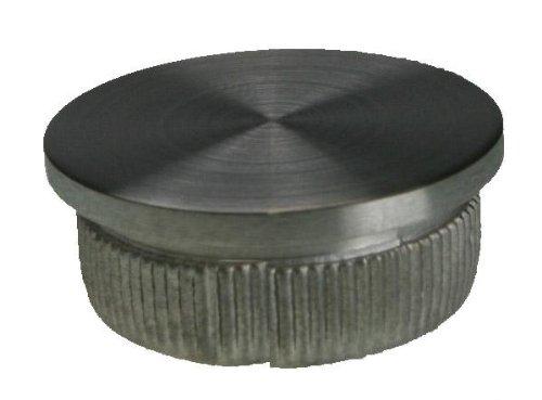 flach für RR 42,4 X 2 mm Rohrstopfen Edelstahl