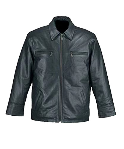 Fuente Leather Wears -  Giacca - Parka - Uomo Marrone