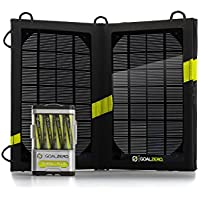 Goal Zero Nomad 7 Guía 10+ – Cargador solar USB, color negro