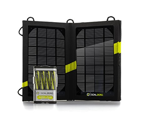 Goalzero Guide 10 Plus Solar Recharging Set, 41022