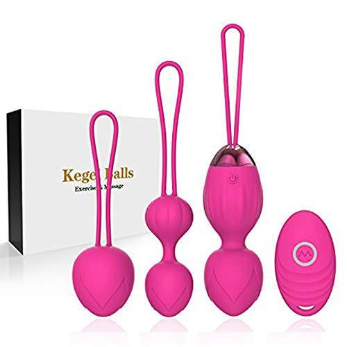 Pelvis Ball - Kegel 2 en 1 Sport Ball Peso y Masaje Ball Benwa Ball para principiantes y estiramiento. Los médicos recomiendan el control de la vejiga y los músculos del suelo pélvico.