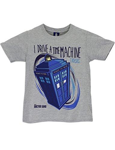 Doctor Who - Maglietta a maniche corta Ragazzi - Dr Who Tardis - 9 a 11 Anni