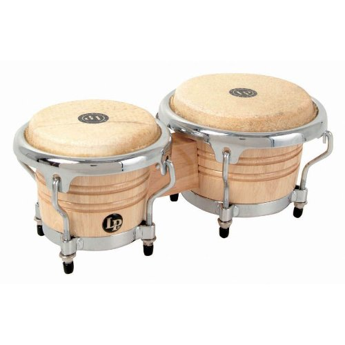 LP Latin Percussion Bongo Mini Tunable Santana LPM200-AW stimmbar