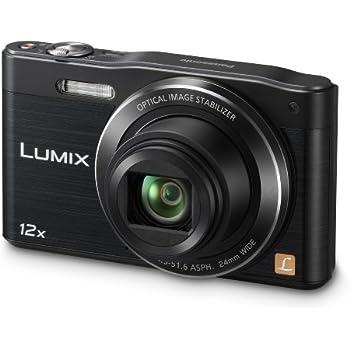 Panasonic Lumix DMC-SZ8EB-K Compact Digital Camera - Black (16.0MP, 12x Optical Zoom, 24mm Lens, Wi-Fi Connectivity) 3 inch LCD (New for 2014)