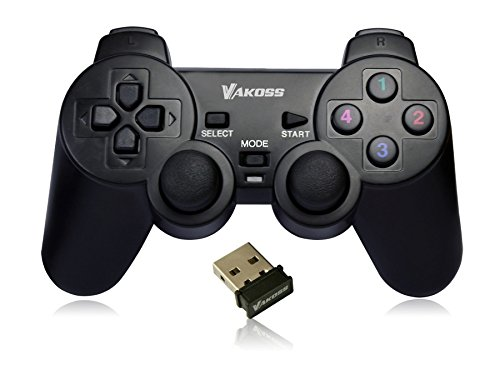 Vakoss PS3 PC USB 2.0 Wireless Game Controller Gamepad Joypad for Laptop Computer