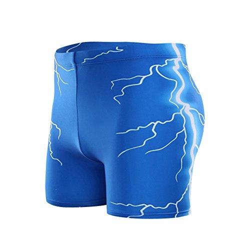 Herren Badeshorts Beachshorts Boardshorts Badehose Kurze Shorts Designer Bademode Blau
