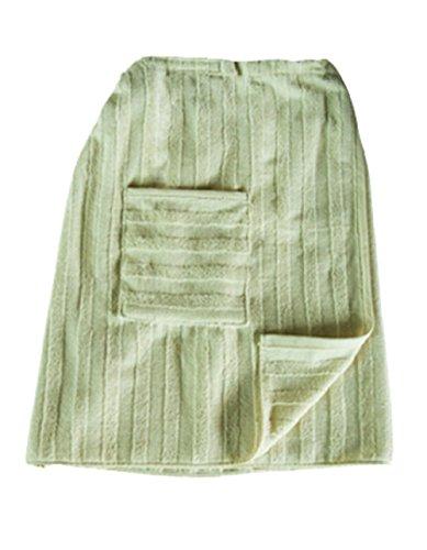 Bedruckbarer Sauna-Kilt für Herren von BearDream, 60 x 156 cm mit verstellbarem Knopfverschluss und kleinen Taschen, 100{556726a2b7da87fe80d2d2c18b2952517b642bf858d685af76fa92b889fbe1fe} Baumwolle, sehr hochwertig verarbeitet (Beige)