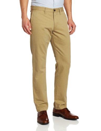 Herren Dockers-style Hose (Dockers Herren 's modernes Khaki Slim Tapered Flache Vorderseite Hose Gr. 34W x 30L, New British Khaki)